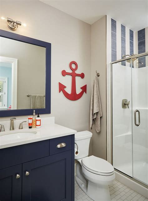 nautical bathroom mirror decor nautical decor bathroom best 25 anchor bathroom ideas on