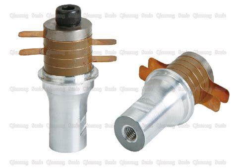 flange type reverse horn ultrasonic piezoelectric transducer sealing high power ultrasonic