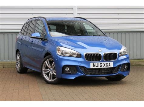 bmw 218 gran tourer used 2016 bmw 2 series gran tourer 2 0td 218d m sport s s for sale in tyne and wear pistonheads