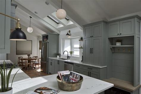 Farrow & Ball Pigeon Kitchen Cabinets   Interiors By Color