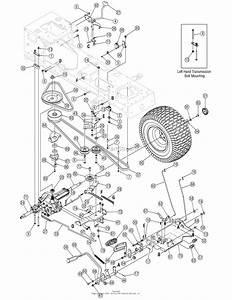 Troy Bilt 13ax60tg766 Super Bronco  2006  Parts Diagram
