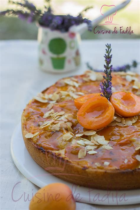 cuisine lavande gâteau aux abricots et à la lavande cuisine de fadila