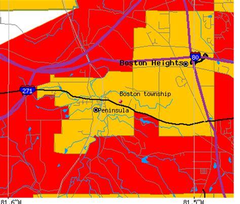 boston township summit county ohio  detailed profile