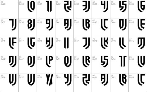 Forza Juve Windows font - free for Personal | Commercial ...