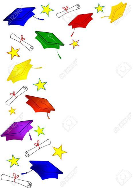 graduation border  clipartioncom