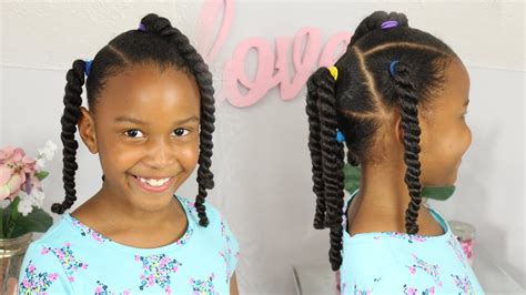 Little Girls Hair Style Natural Hair