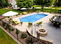 great patio pool design ideas Inground Pools - North Eastern Pool & Spa - Rochester | Landscaping in 2019 | Pinterest | Pool ...