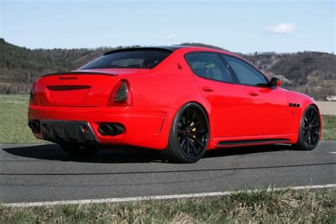 red maserati quattroporte maserati quattroporte tuned by cdc performance
