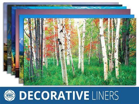 Decorative Window Well Liners-over Decorative Scenes