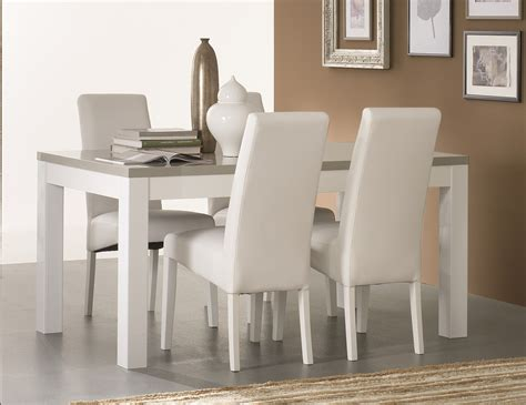 chaise blanche salle a manger chaise salle a manger blanche inspirations avec table de