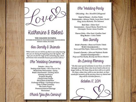 Comfortable Tea Length Wedding Programs Love39s Treat Magnetstreet ...