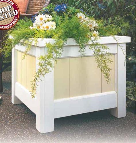 patio planter box diy wooden planters diy planters