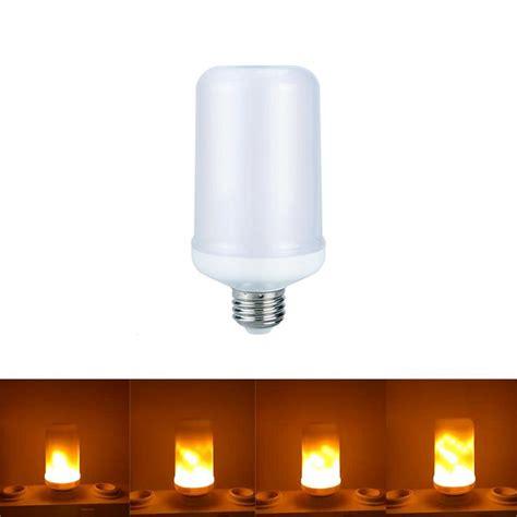 2017 new e27 e26 2835smd led l flame effect fire light