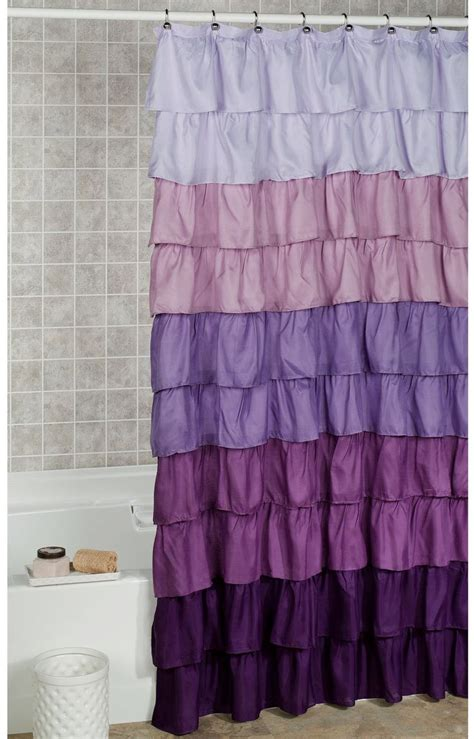 Purple Ombre Curtains Walmart by 25 Best Images About Shower Curtains On Ombre