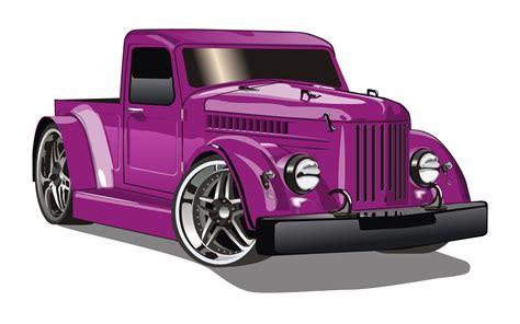 Car V Vectorized Image Vector Clip Art