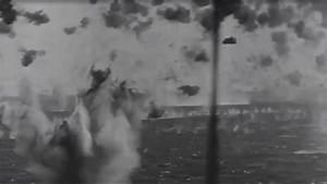 Okinawa Japanese Kamikaze Attack on US Navy Fleet WW2 ...