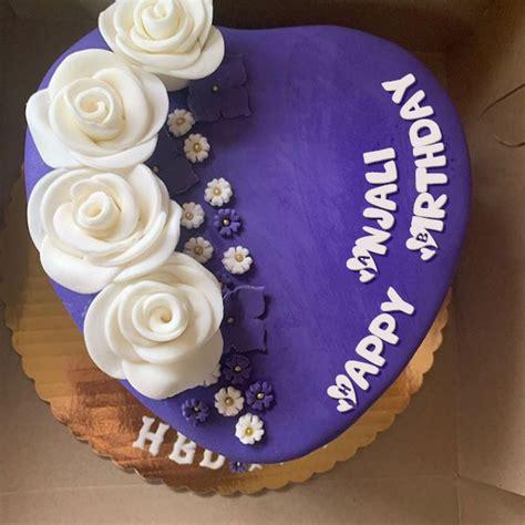 happy birthday anjali cakes cards wishes
