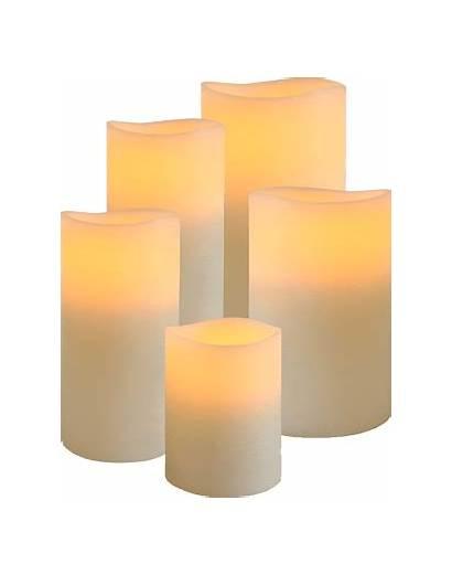 Candles Flameless Enjoy Lit Lighting Wax Started