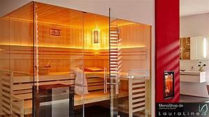 Was Bringt Sauna : lauraline sauna design mit glas massivholzsauna oder aussensauna besser g nstig vom fachhandel ~ Whattoseeinmadrid.com Haus und Dekorationen