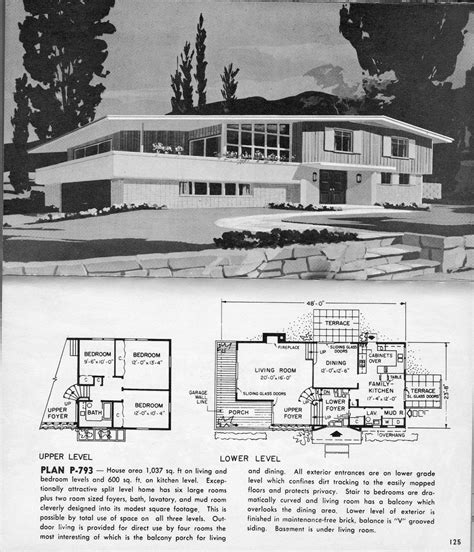 split level plan p  modern floor plans architectural