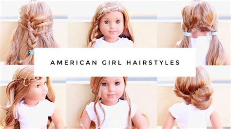 hair style at home for simple easy american doll hairstyles
