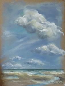 Tableaux Mer Et Plage : peinture tableau paysage mer ~ Teatrodelosmanantiales.com Idées de Décoration