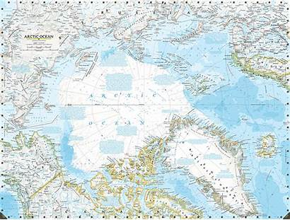 Change Climate Map Geographic National Arctic Shows
