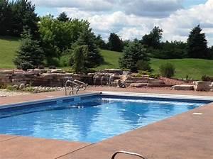 Stunning Rectangular Swimming Pool Designs Ideas