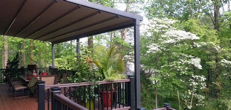 deck awnings chester county milanese remodeling