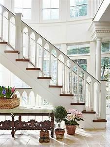 Escalier Bois Blanc : 50 best escalier images on pinterest stairs railings and spirit ~ Melissatoandfro.com Idées de Décoration
