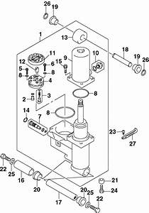 Johnson Power Trim  U0026 Tilt Parts For 2002 40hp J40pl4snf