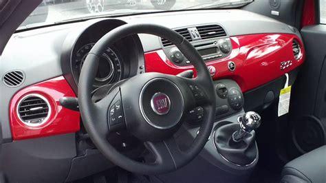 Fiat 500 Sport Interni by 2012 Fiat 500 Sport In Rosso