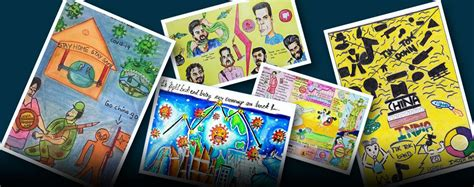 results national  poster making art competition