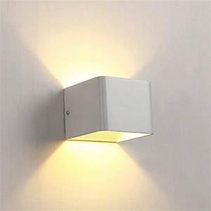 Wandleuchten Led Innen Modern : hedc 6w led wandleuchten treppenleuchten wandlampe badlampe wandbeleuchtung wandstahler ~ Orissabook.com Haus und Dekorationen