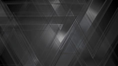 Abstract Black Design Png by Black Abstract Tech Triangles Motion Background
