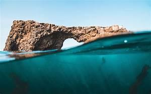 Channel, Islands, Rocks, 4k, Wallpapers