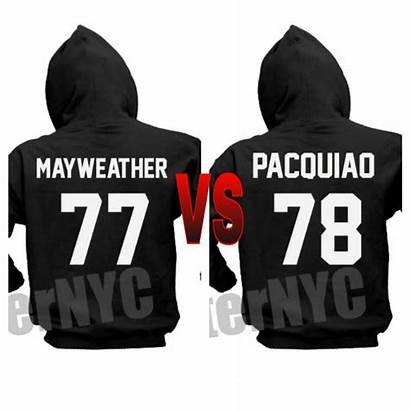 Pacquiao Clothes Mayweather Vs