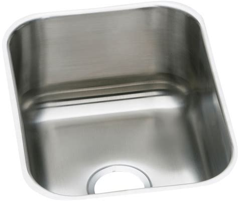 Elkay DXUH1318 16 Inch Undermount Stainless Steel Sink