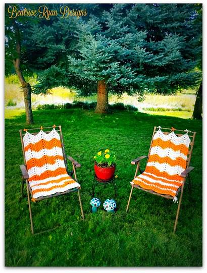 Lawn Chair Crochet Pattern Lazy Daze Patterns