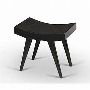 Tabouret Bas Design : tabouret en teck chandigarh design ~ Teatrodelosmanantiales.com Idées de Décoration