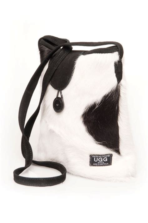 Cowhide Ugg Boots by Black White Cowhide Print Ugg Bag Australian Leather