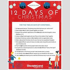 "Three Ways To Celebrate The ""twelve Days Of Christmas"" With Kids Discipleblogcom"