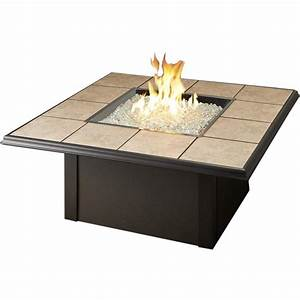 Napa Valley Propane Fire Pit Table By Outdoor GreatRoom