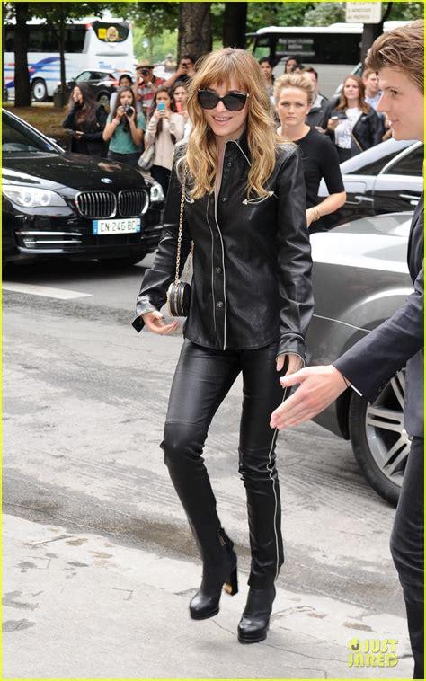 dakota johnson dresses  christian grey  sexy leather