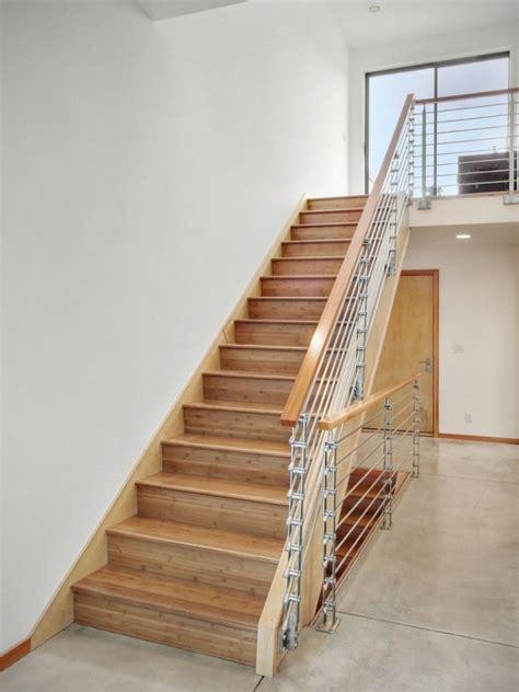 memilih desain tangga kayu minimalis renovasi rumahnet