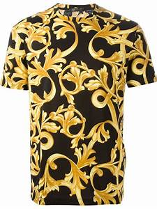 67fd5983 Versace T Shirt. versace baroque print t shirt in yellow for men ...