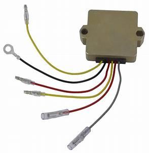 New Voltage Regulator Mercury Marine 40 50 55 Hp 1989