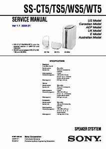 Sony Dav-fc7 Service Manual