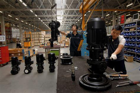 headquarters  production grundfos