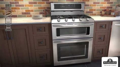 estufas  horno doble kitchenaid youtube